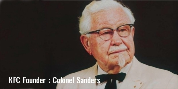Founder of KFC, fastest growing franchise business