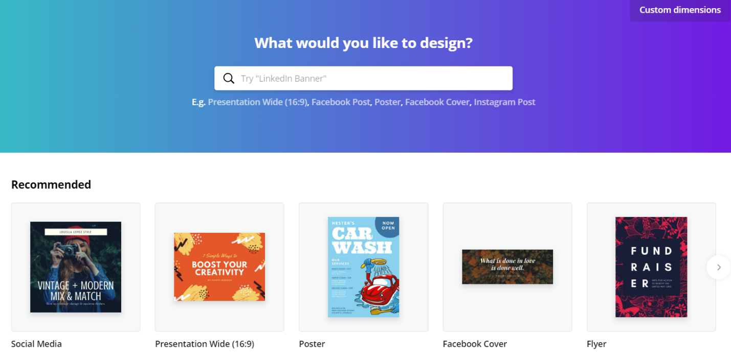 Increase your web conversion with catchy designs using Canva