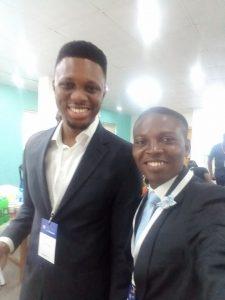 John Obidi with Emenike Emmanuel