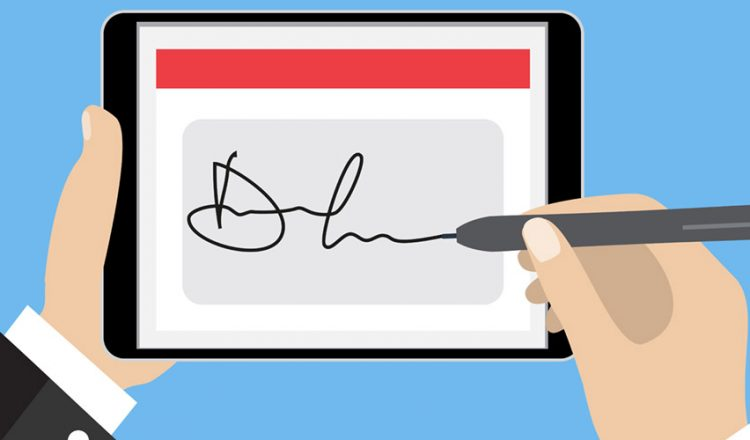How electronic document signing can help in the real estate sector