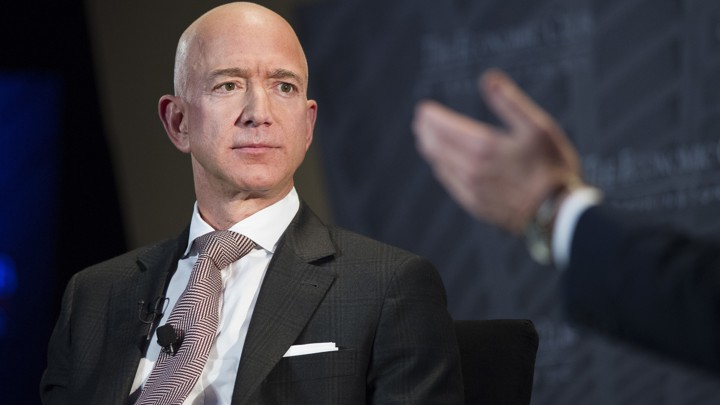 Jeff Bezos sharing his best business advice for anyone starting a business