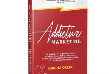 Marketing books by a Nigerian - Obinna Okeke