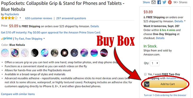 How to use the Amazon Buy Box to improve your sales volume to the next level