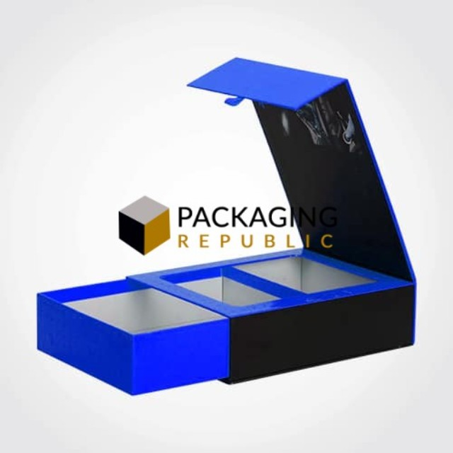 Custom rigid box packaging design from Packaging Republic