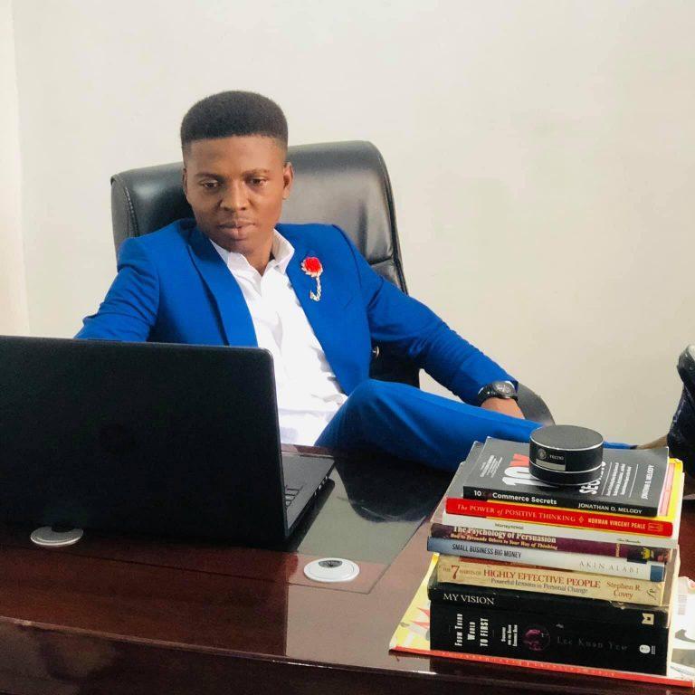 Emenike Emmanuel digital marketing consultant from Nigeria