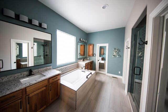 Bathroom renovation in Australia