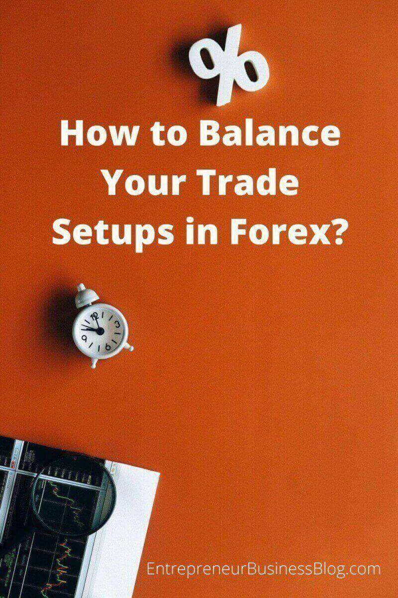 How to Balance Your Trade Setups in Forex and Manage Risks