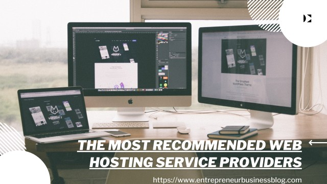 The most recommended web hosting service providers in the United States and Australia
