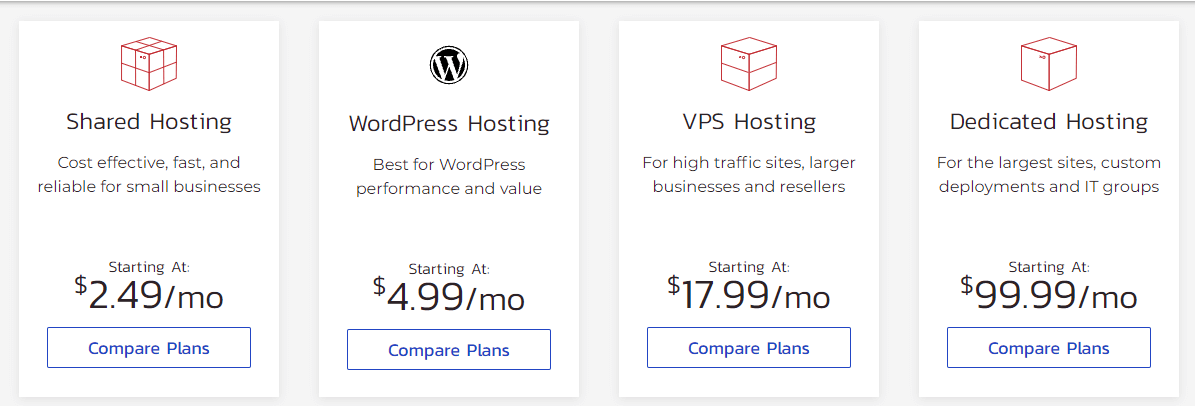 The best DreamHost alternatives and competitors in terms of price is InMotion Hosting